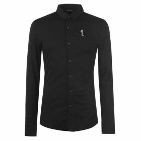 Religion Nero Long Sleeve Shirt - Black