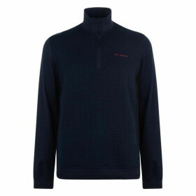 Ted Baker Ted Baker Text Pullover - Navy