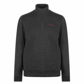 Ted Baker Ted Baker Text Pullover - Charcoal