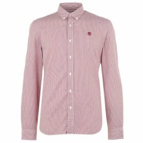 Timberland Milford Stripe Shirt Mens - Rio Red