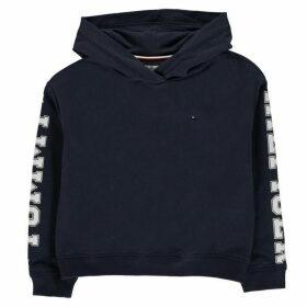Tommy Hilfiger Essential Sleeve Logo Hoodie - Black Iris
