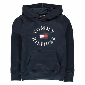 Tommy Hilfiger Circle Logo Hoodie - Blue