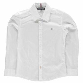 Tommy Hilfiger Long Sleeve Poplin Shirt - White
