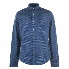 Tommy Hilfiger Square Print Shirt - Estate Blue