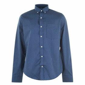 Tommy Hilfiger Square Print Shirt - Estate Blue