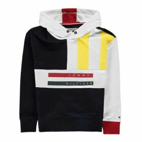 Tommy Hilfiger Multi Colour Hoodie - Black Iris
