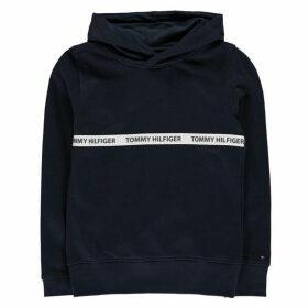 Tommy Hilfiger Essential Pure Cotton Hoodie - Blue