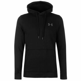 Under Armour Rival Fitted OTH Hoody Mens - Black