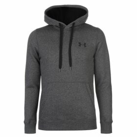 Under Armour Rival Fitted OTH Hoody Mens - Charcoal