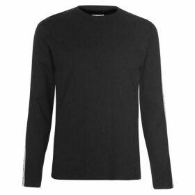 Wrangler Long Sleeve Logo T Shirt - Black