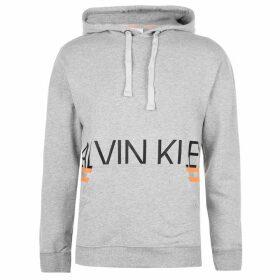 Calvin Klein Hazard OTH Hoodie - Grey/Orange
