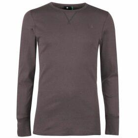 G Star Korpaz Long Sleeve T Shirt - Carbid