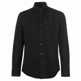 G Star Powel Long Sleeve Shirt - Black