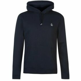 Original Penguin Fleece Popover Hoodie - Blue