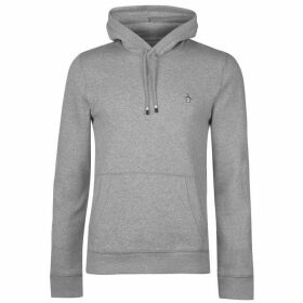 Original Penguin Fleece Popover Hoodie - Grey