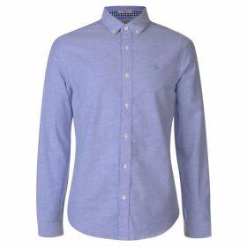 Original Penguin Original Long Sleeve Shirt Mens - Blue