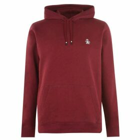 Original Penguin Fleece Popover Hoodie - Red