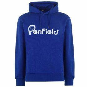 Penfield OTH Logo Hoodie - Penfield Blue