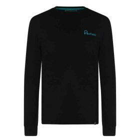 Penfield Moraine Long Sleeve T Shirt - Black