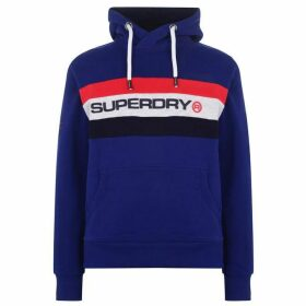 Superdry Trophy Classic Hoodie - Down Blue T6G