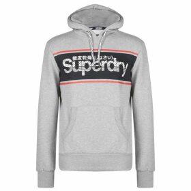 Superdry Retro OTH Hoodie - Grey Marl 07Q