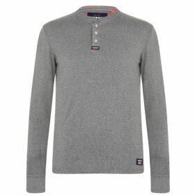 Superdry Grandad T Shirt - Carbon Grey S6A