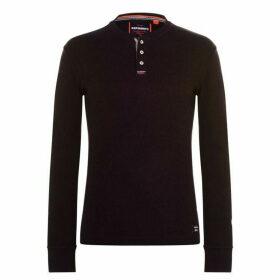 Superdry Grandad T Shirt - Burgundy R6N