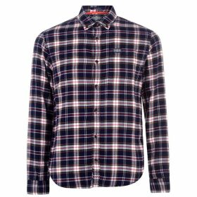 Superdry Work Shirt - Navy Check JLK