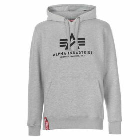Alpha Industries Basic Hoodie - Grey