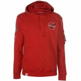 Alpha Industries Apollo 11 Hoodie - Red