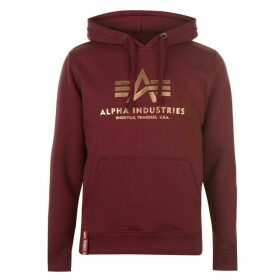 Alpha Industries Basic Hoodie - Burg Gold