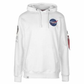 Alpha Industries Apollo 11 Hoodie - White