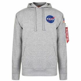 Alpha Industries Hooded Sweatshirt - Grey