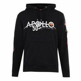 Alpha Industries Apollo 11 Anniversary Badge Hoodie - Rep Blue 07