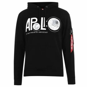 Alpha Industries Apollo 11 Anniversary Hoodie - Black 03