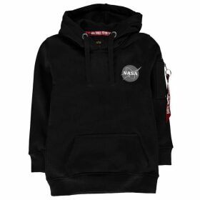 Alpha Industries Space Shuttle OTH Hoodie - Black