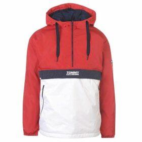 Tommy Jeans Colour Block Popover Jacket - Samba Multi