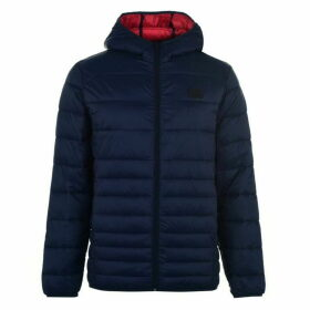 Jack and Jones Jorbendt Puffer Jacket - New Navy Blazer