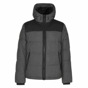 DKNY Heavy Padded Jacket - Hthr Charcoal