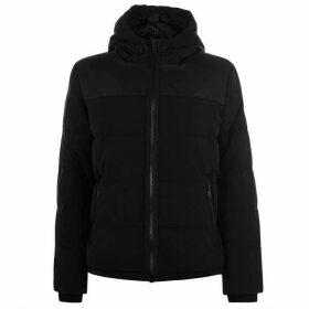 DKNY Heavy Padded Jacket - Black Mono