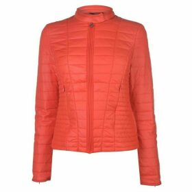 Guess Guess Thermal Quilted Look Jacket - RHUBARB