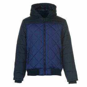 Lee Cooper Colour Block Jacket Mens - Navy/Royal