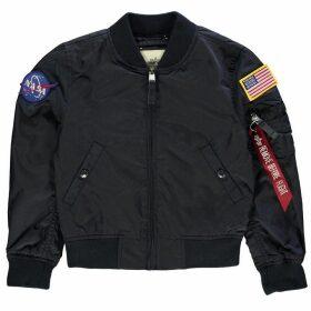 Alpha Industries Ma-1 Nasa Reversible Jacket - Rep Blue