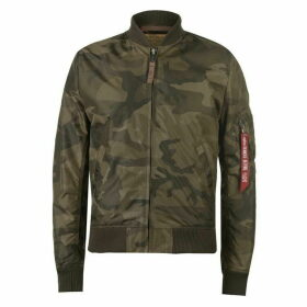 Alpha Industries Jacket - Olive Camo 239