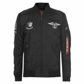 Alpha Industries TT Patch Jacket - Black