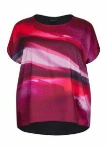 **Live Unlimited Pink Printed Top, Dark Multi