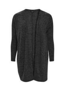 Grey Soft Touch Cardigan, Charcoal