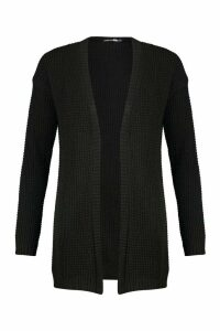Womens Tall Edge to Edge Cardigan - black - M/L, Black