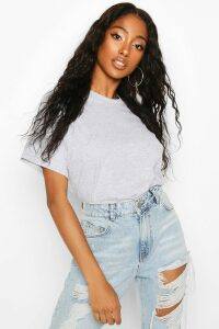 Womens Oversized T-Shirt - grey - XL, Grey