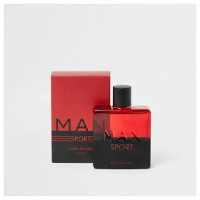 Mens River Island Red RI Man Sport eau de toilette